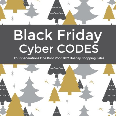 BLACK Friday + Weekend Shopping Codes