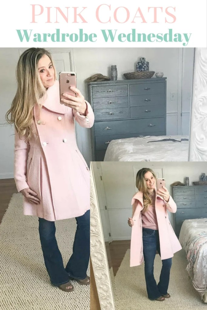 Perfect Pink Coats: Wardrobe Wednesday