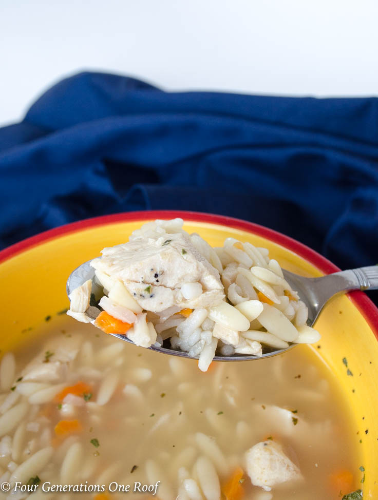 kids 30 minute Homemade Chicken Soup