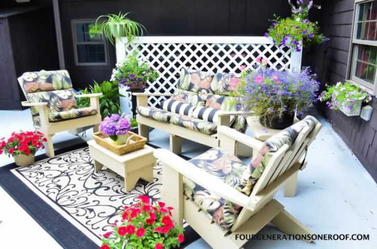 Disguise Ugly AC Units or Garbage Barrels with a Lattice Privacy Screen