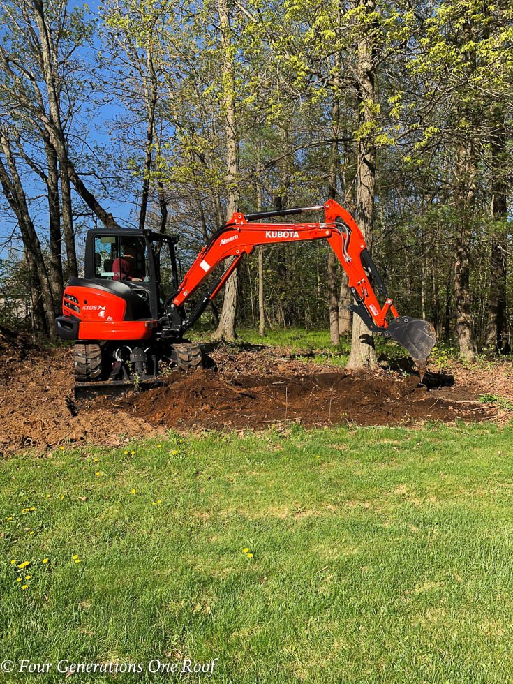 Excavation and Tree Work Yard Cleanup Project is done