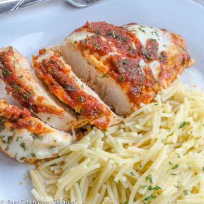 Moms 30 Minute Chicken Parmesan Easy Recipe