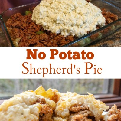 Moms Easy Cauliflower Mash Shepherd's Pie Recipe