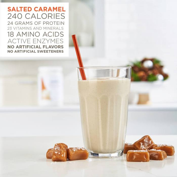 tips to increase energy Salted Caramel Meal Replacement Shake - My secret to a balanced lifestyle that works