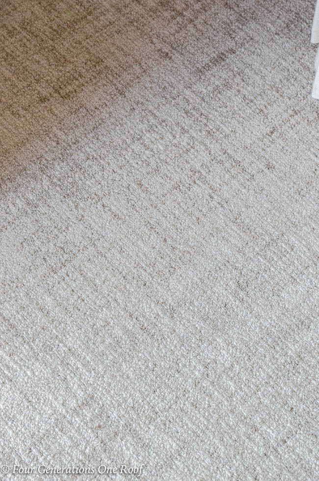 Dash and Albert Crosshatch wool rug ivory