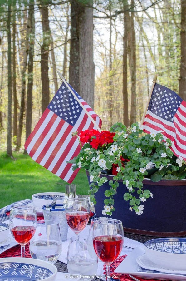 Classy Patriotic Decor Ideas On Our Patio Kitovet