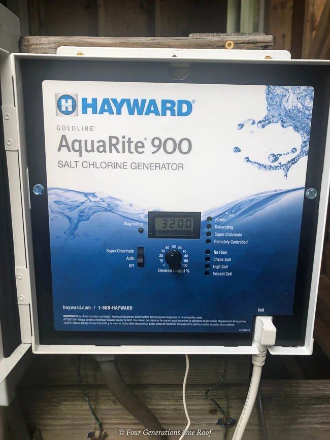 Aquarite Salt Water Pool System Hayward