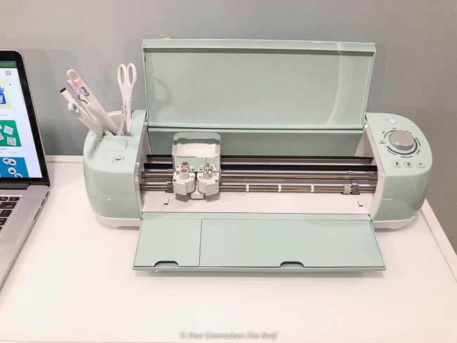 Cricut Explore Air 2 Mint green cutting machine