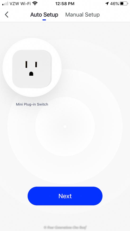 jasco enbrighten phone app screen mini plug in switch