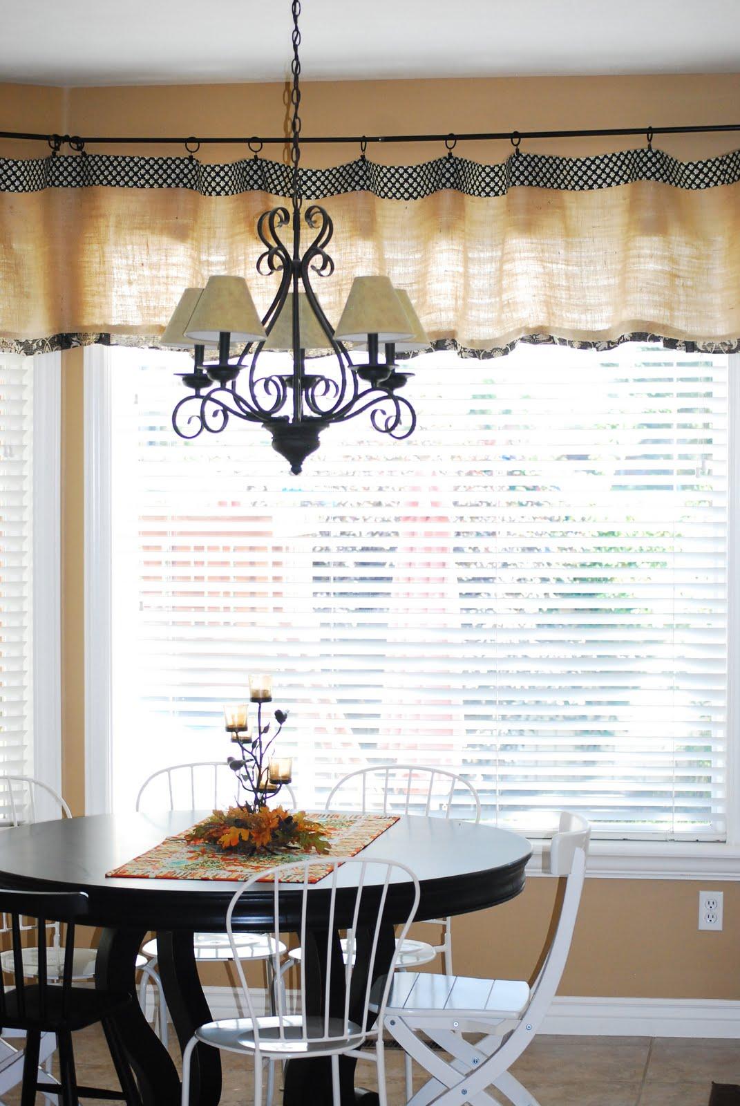 Burlap Window Treatments Practical And Stylish Variant