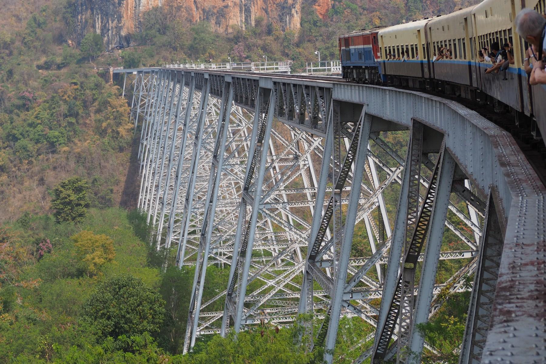 Gokteik Viaduct, Myanmar