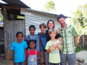 Volunteering at St. Andrew's Church Preschool and After-School, Sri Lanka