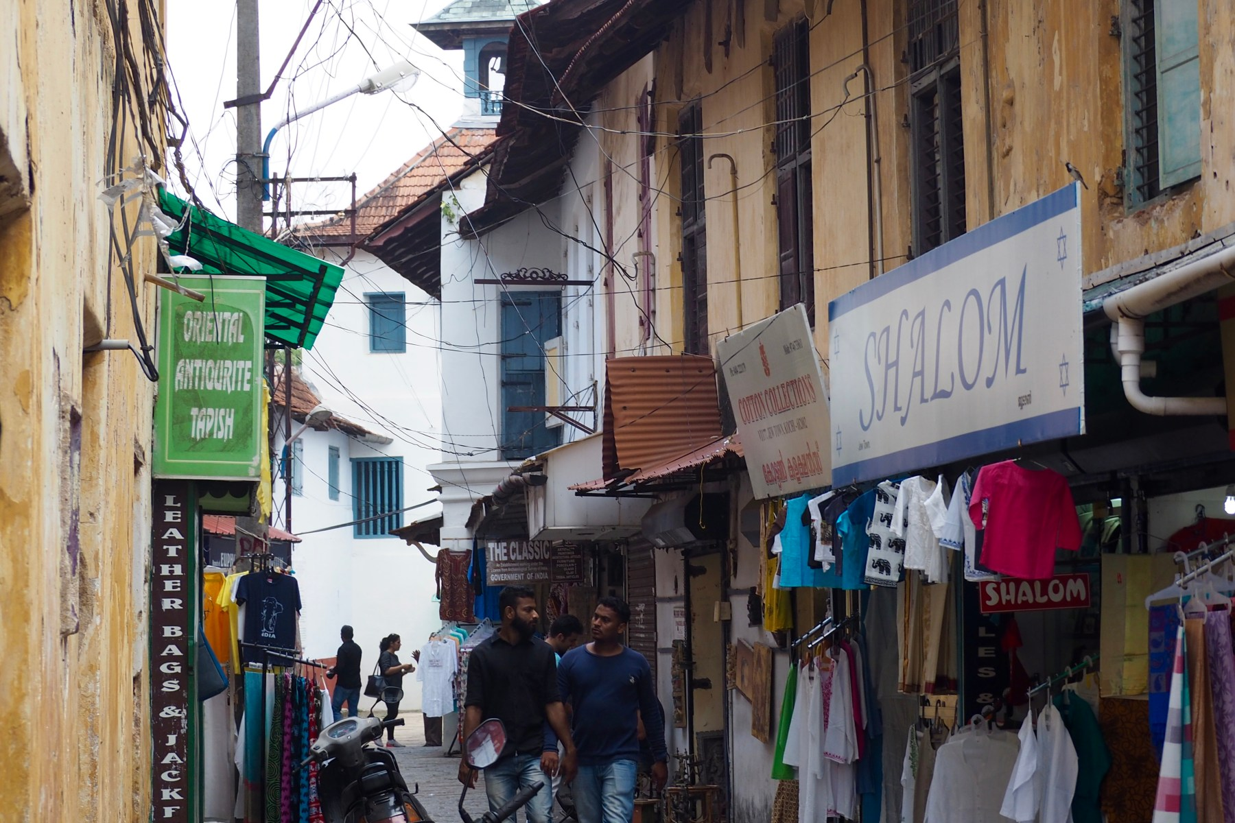 Jew Town, Kochi, Kerala, India