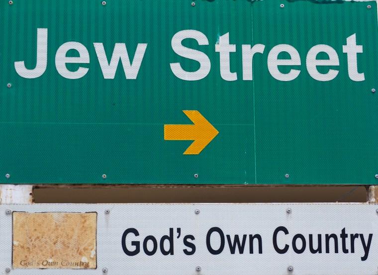 Jew Street in Kochi, India