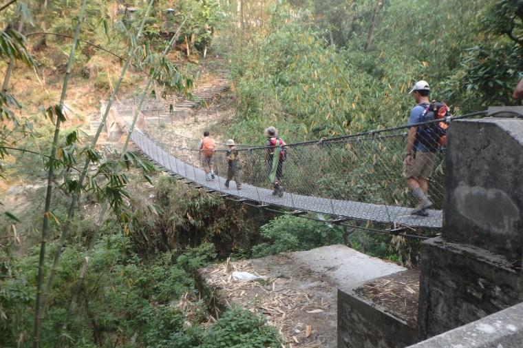 Suspension Bridge Annapurna