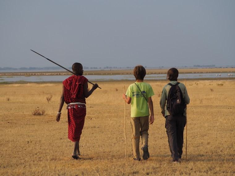 Masai Guide Near Lake Manyara, Tanzania