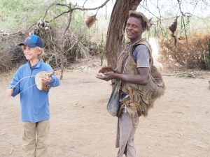 Jamming with Members of the Hadzabe Hunter-Gatherer Tribe, Middle-of-Nowhere, Tanzania