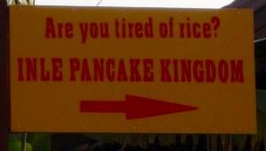 Pancake Kingdom, Myanmar