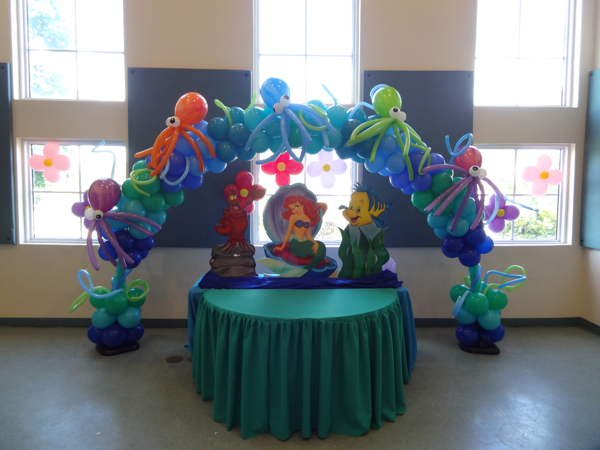 chiavari rental chairs rolling atlantic city party little mermaid -ariel decoration