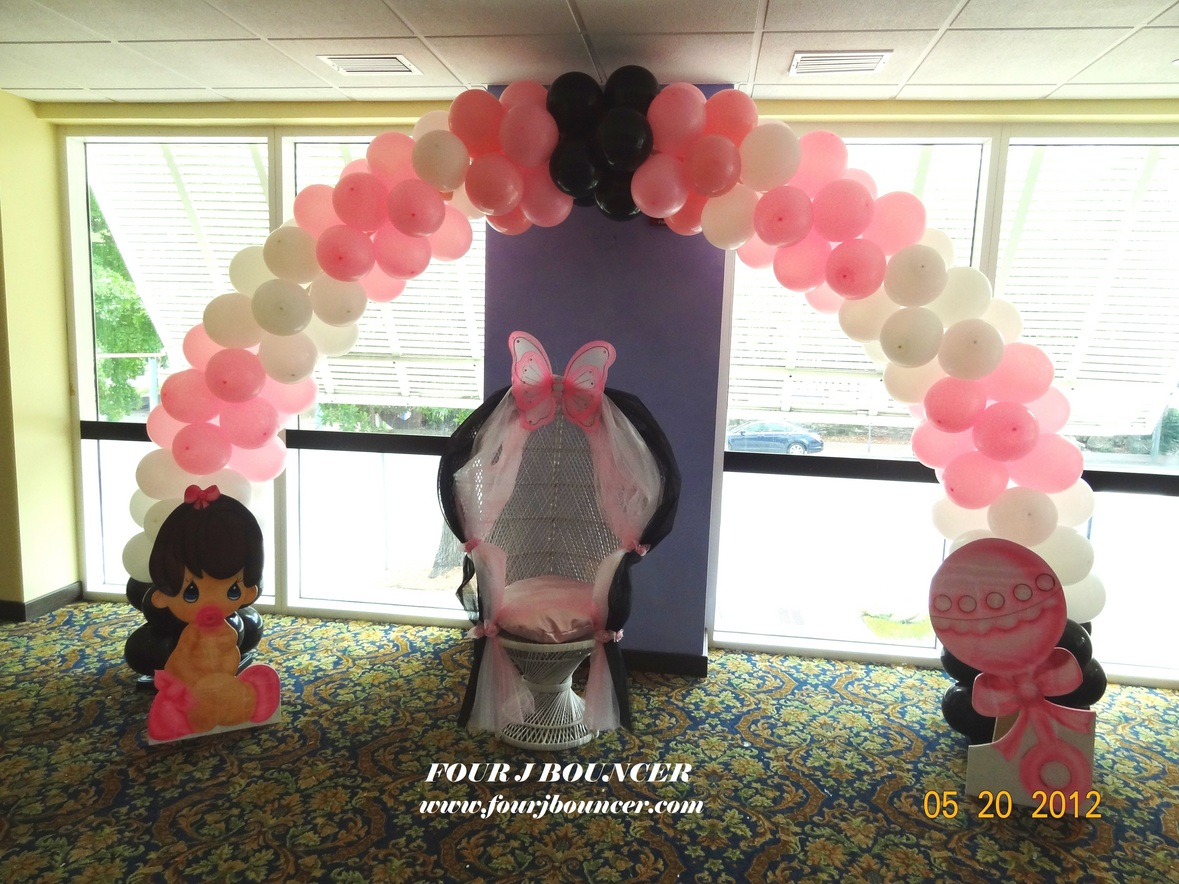 baby shower chairs for rent standing task chair packages in miami broward and hialeah