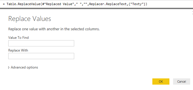 Power Query – A function to remove spaces within Text values