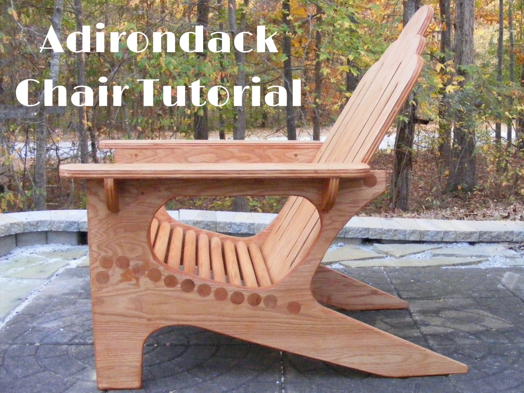 adirondack chair diy vision ergonomic tutorial