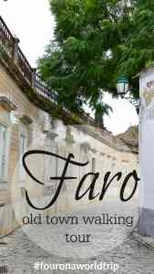 discover with us Faro's oldtown and get a free itinerary to see it's highlights