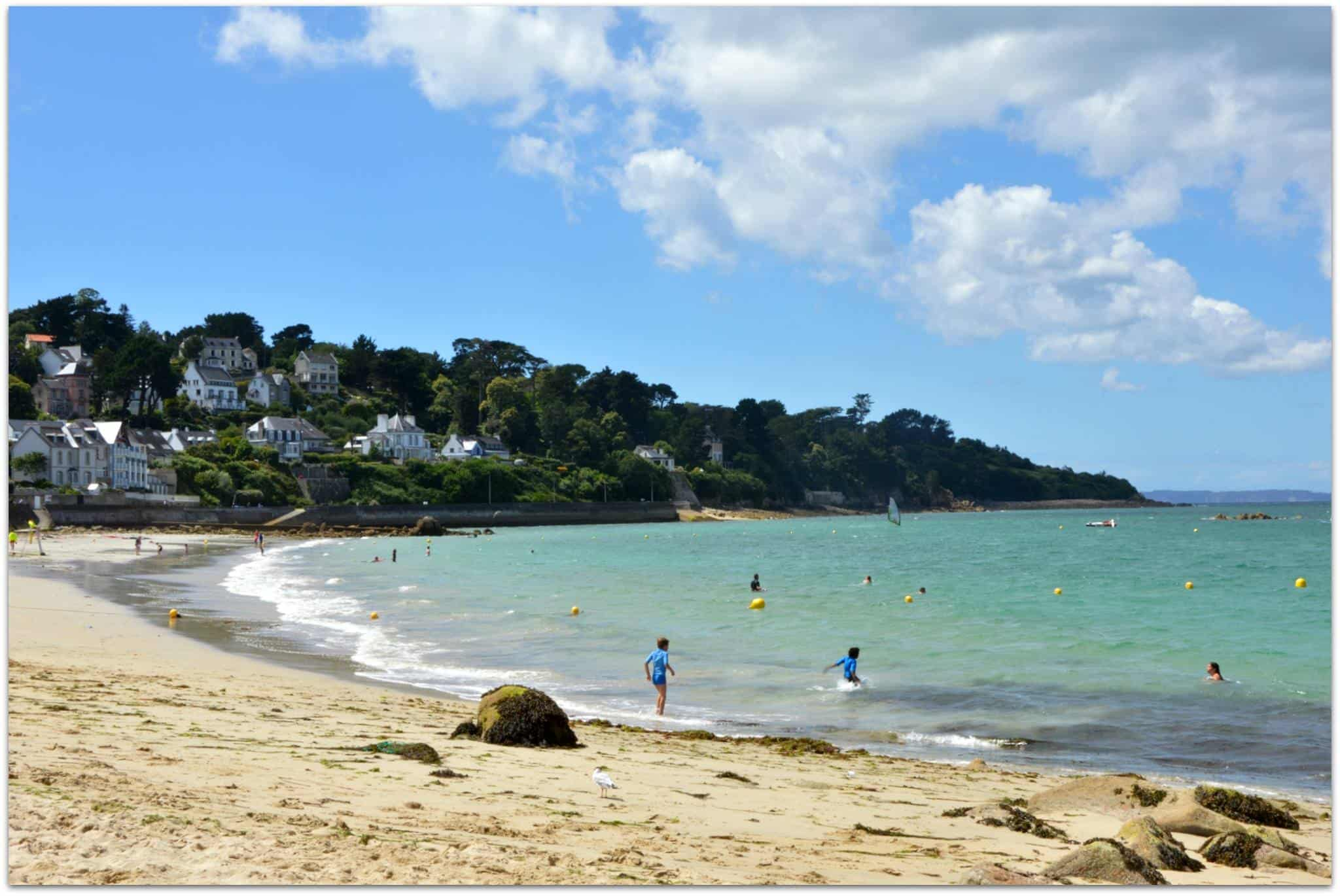 One of the beaches of Douarnenez - Tréboul Plage