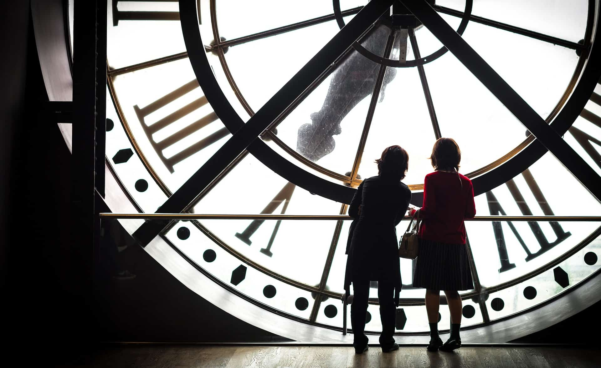 the view through the old clock in the Musée d'Orsay - find the best family hotel in Paris with the knowledge of a local