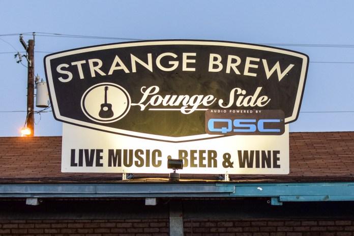 Strange Brew sign
