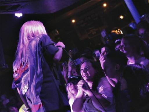 Hayley Kiyoko and fans