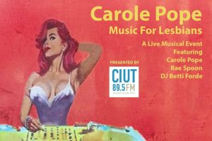 Carole Pope's Music for Lesbians