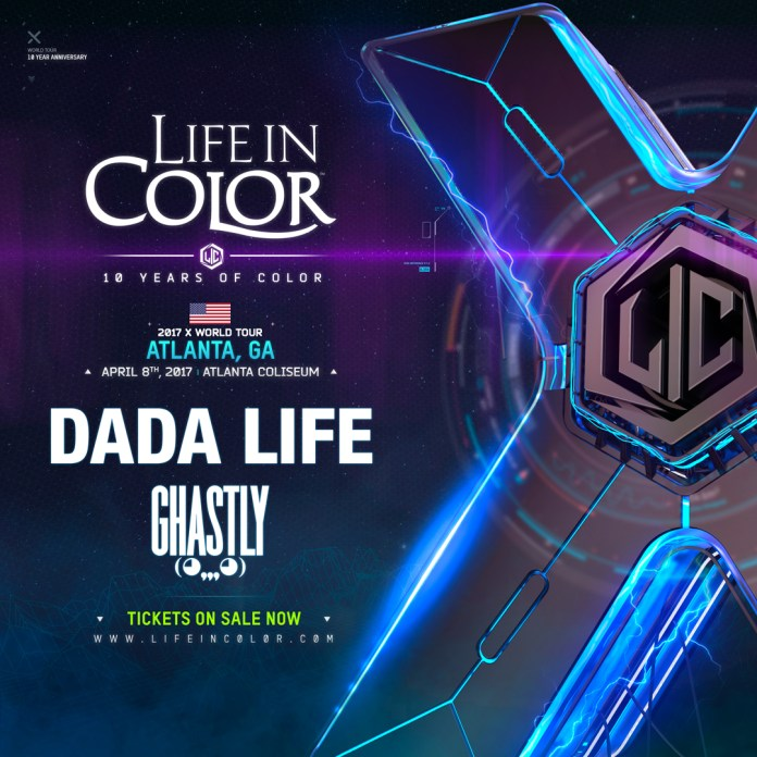 Life in Color Atlanta poster