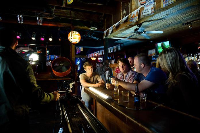Dixie Tavern during Zac Brown Band shoot