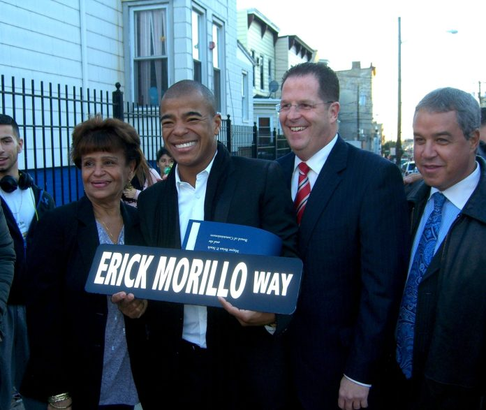 Erick Morillo Way in Union City, NJ