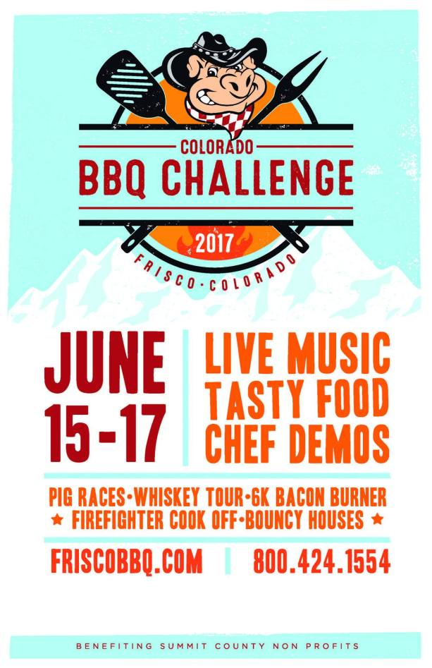 Colorado BBQ Challenge poster