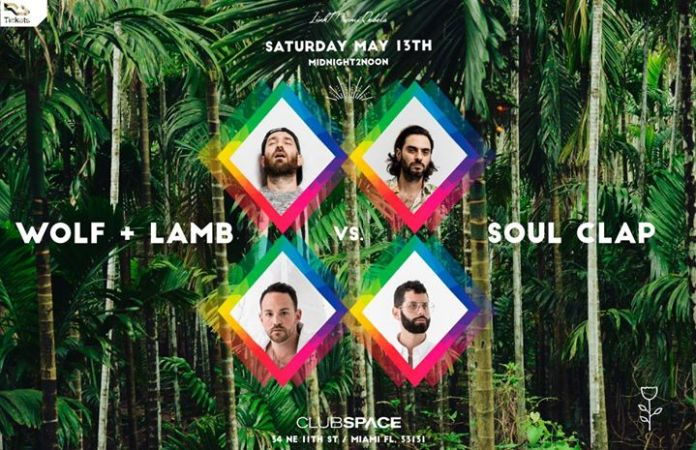 Wolf + Lamb vs Soul Clap poster