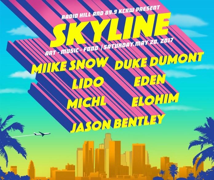 Skyline: Art, Music, Food poster