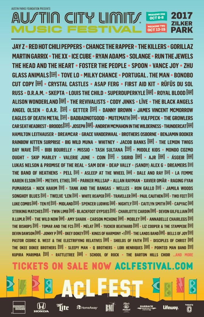Austin City Limits 2017 poster