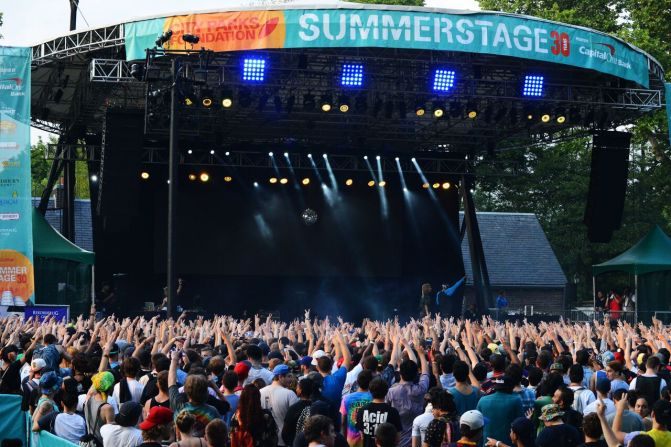 Summerstage stage