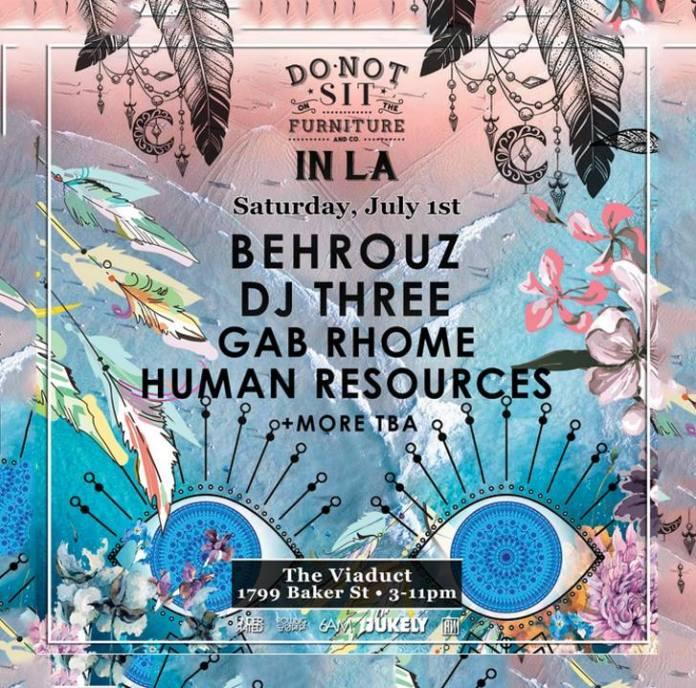 Behrouz show poster