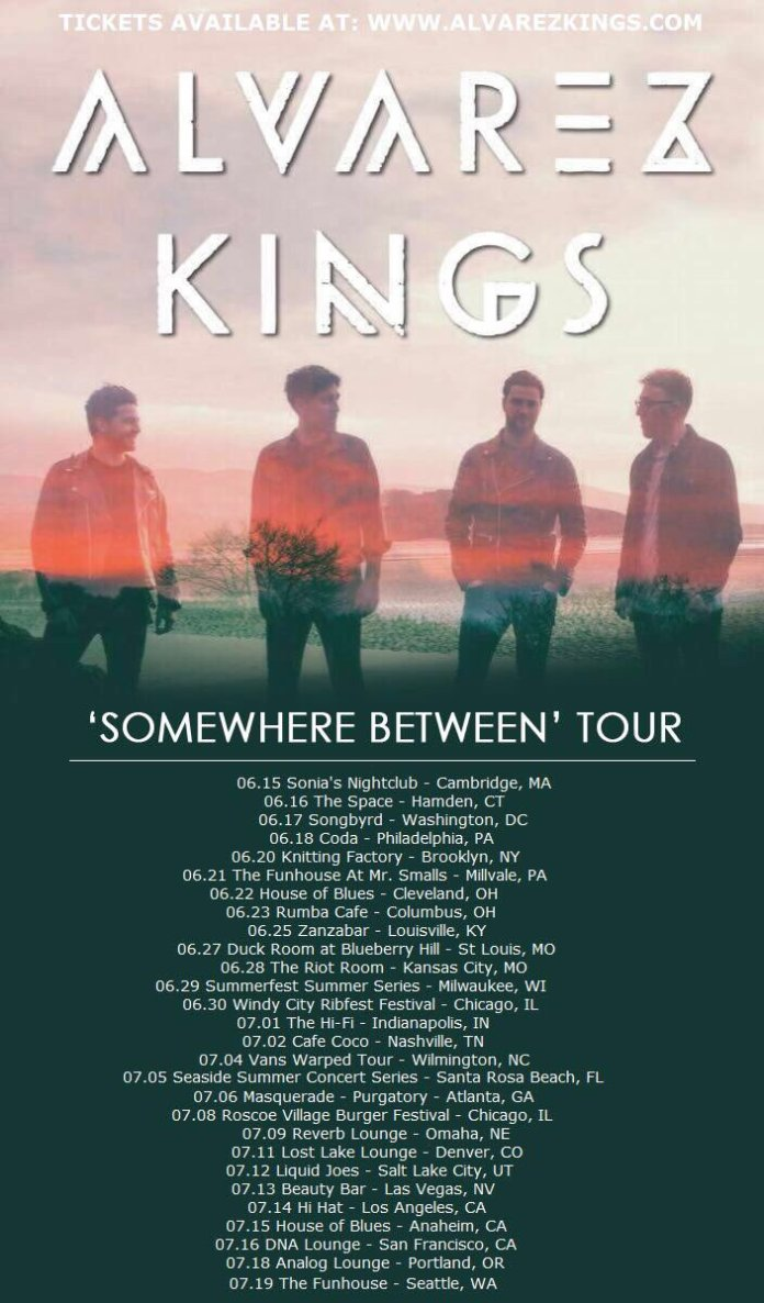 Alvarez Kings tour poster