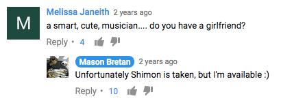 shimon robot comment