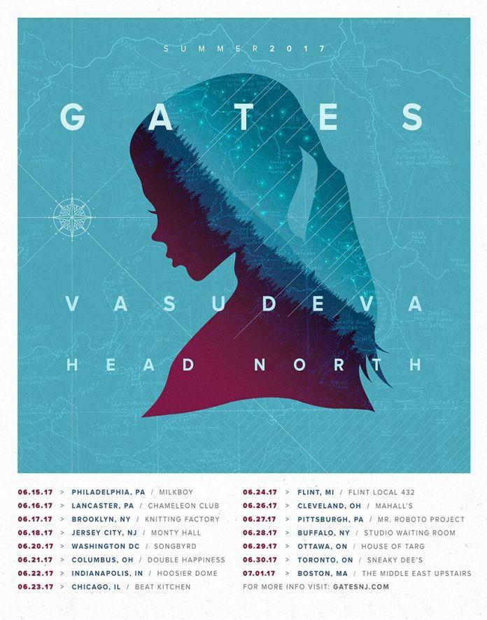 Gates tour poster