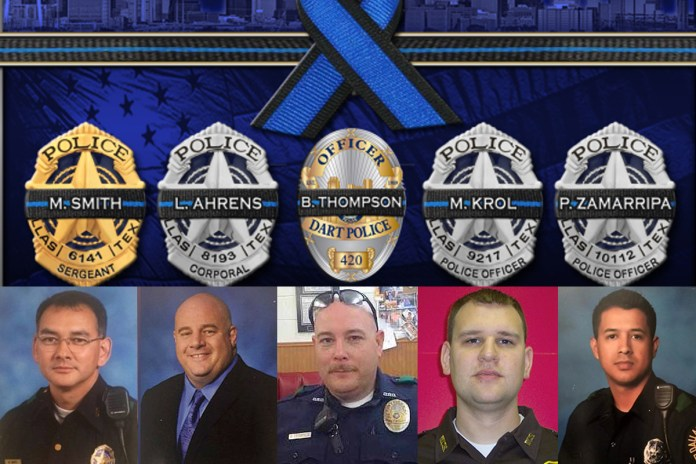 fallen officers being honored at Dallas Strong Music Festival