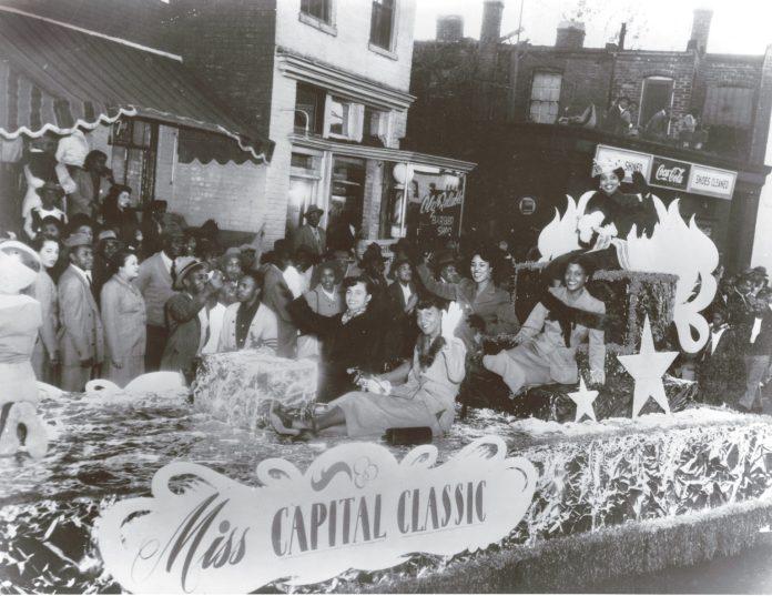 A parade down U Street