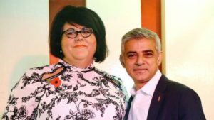 London Mayor Sadiq Khan and Night Czar Amy Lamé