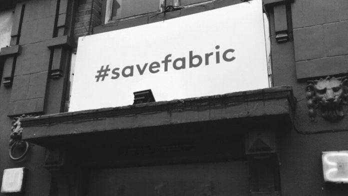#savefabric Fabric London