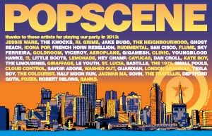 The 2013 lineup