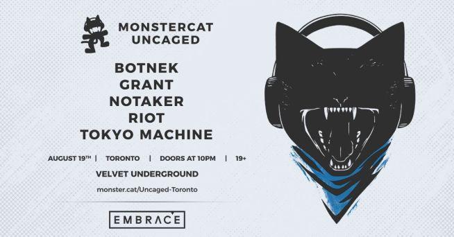 MonstercatUncaged Vol. 2! poster